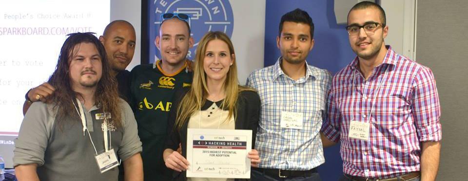 Nurse wins top award for mobile app design at Hacking Health