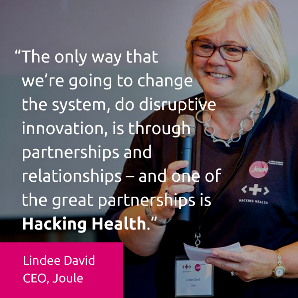 Hacking Health welcomes Joule as National Medical Partner for Innovation