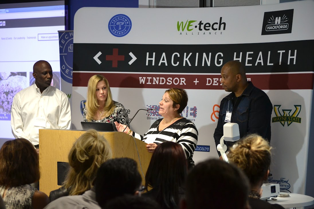 HH Prez - Hacking Health Builds Apps and Bridges