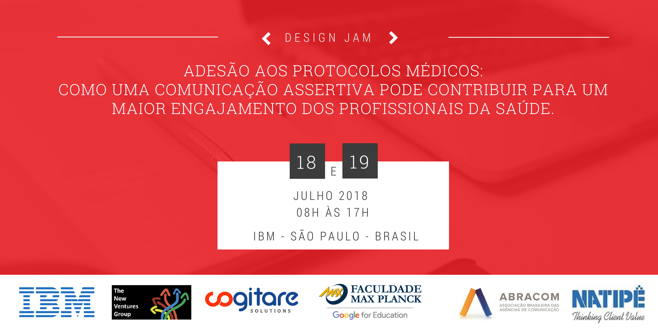 Design Jam – Adesão aos protocolos médicos
