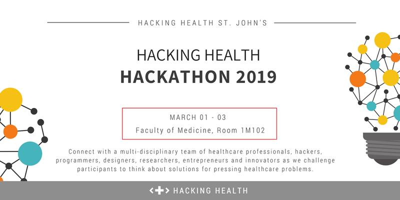 Hacking Health St. John's Hackathon 2019