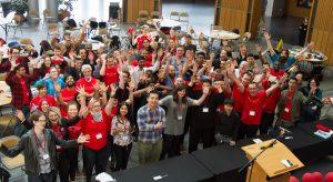 Hacking Health Waterloo, True North, dual-city hackathon