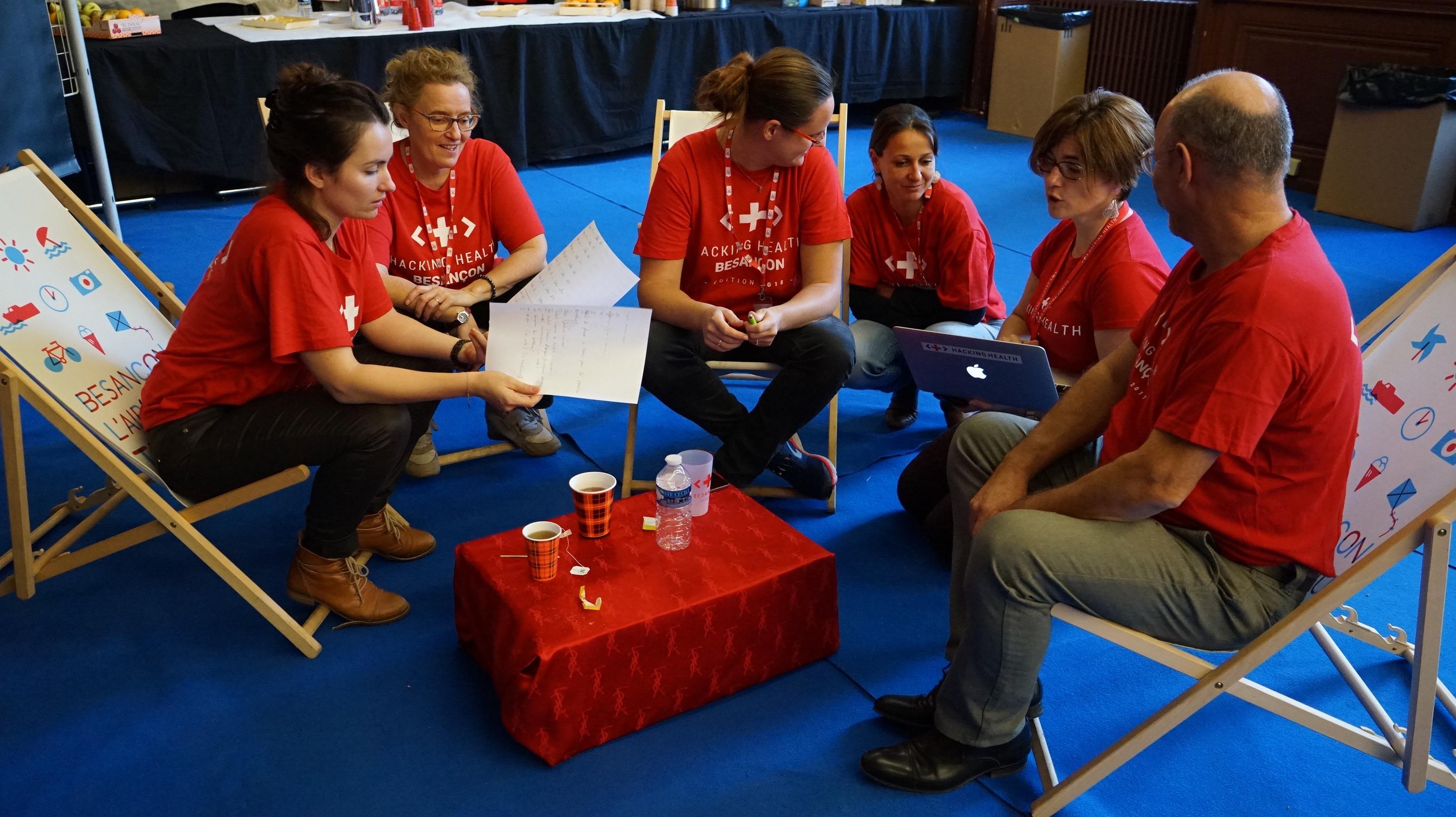 Le Hackathon Santé Par Hacking Health Besançon