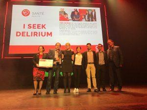 I Seek Delirium - Le projet gagnant du Coopérathon 2018