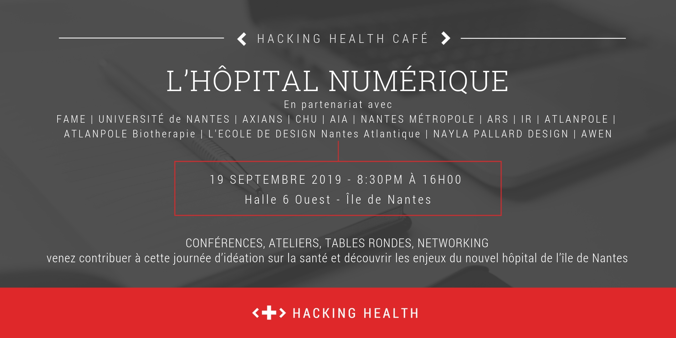 hopital numerique digital week 2019 Hacking Health Nantes