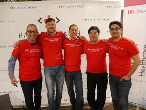 150th-Hackathon, Hamilton Hackathon, Hacking Health team